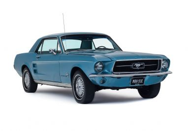 1967 Ford Mustang Coupe Straight 6  3.3L