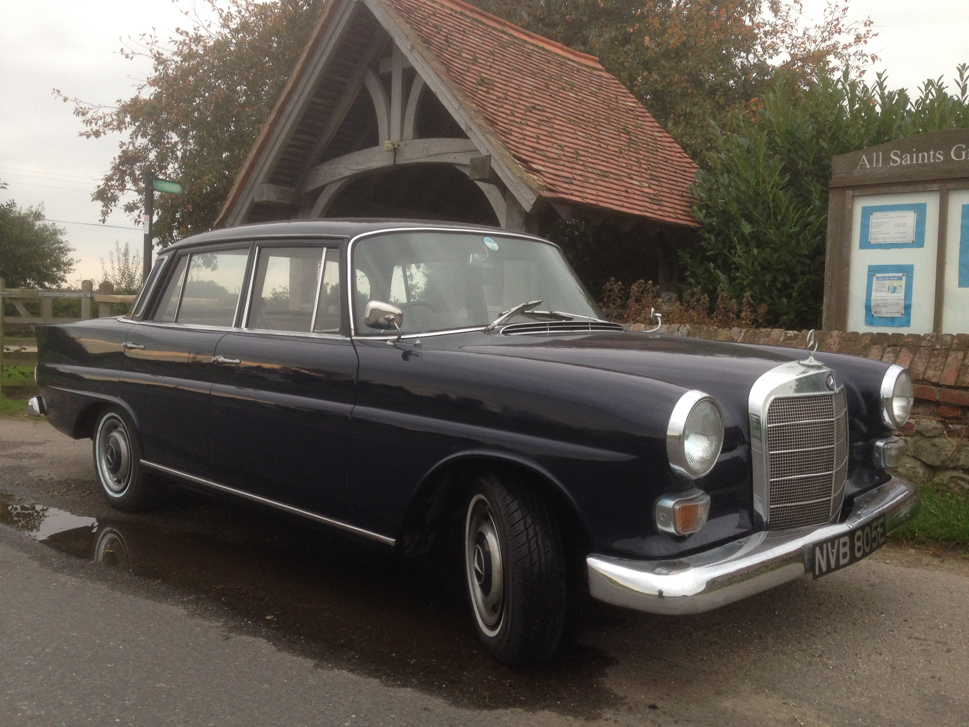 1967 Mercedes 230 Fintail